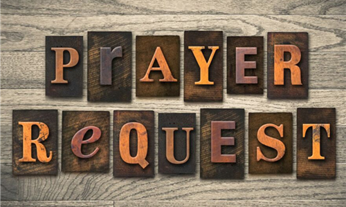 Prayer Requests | October 20