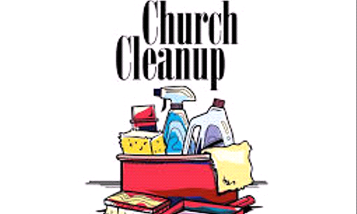 Keeping the Church Tidy | Volunteer Opportunity